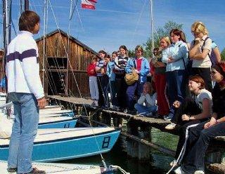 Gut ausgebildete InstruktorInnen garantieren die beste Wassersport-Ausbildung © Steiner Nautic