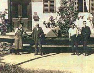 Bootsbau am Mattsee in den 1920-er Jahren © Steiner Nautic