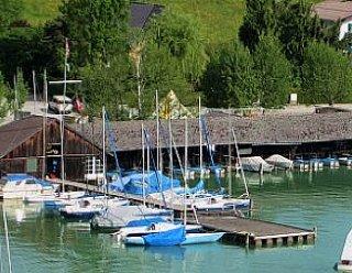 Seit den 1920-er Jahren existiert das urige Bootshaus von Steiner Nautic © Steiner Nautic