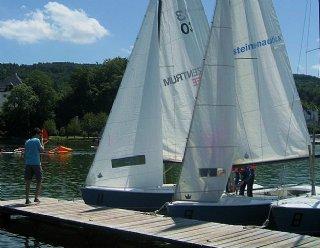 Sie haben nur an Wochenenden Zeit für Sport? - dann nehmen Sie an Wochenend-Segelkursen bei Steiner Nautic teil © Steiner Nautic