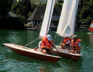 Kinder sind Naturtalente im Segeln und lernen den Umgang mit dem Segelboot besonders schnell © Steiner Nautic