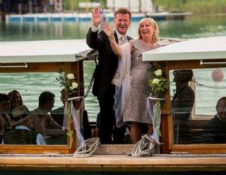Heiraten auf der Seenland - eine unvergessliche Hochzeit © Steiner Nautic