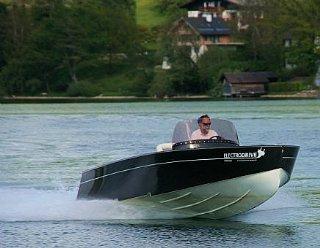 Steiner Lightstream 6.2 HV mit 120 kW © Steiner Nautic