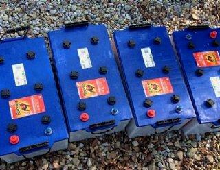 Batterien bei Steiner Nautic © Steiner Nautic