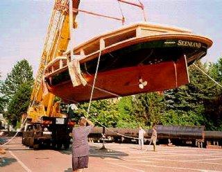 Die einzigartige Bauweise der STEINER Seenland macht sie zum idealen Linienschiff auf den Trumer Seen! © Steiner Nautic