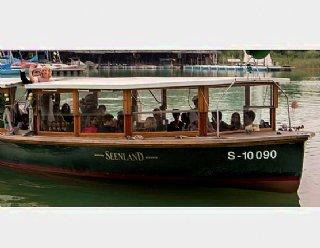 Die Seenland aus der Bootswerft Steiner Nautic bietet Platz für bis zu 50 Passagiere! © Steiner Nautic