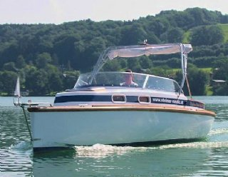 STEINER Elettra 750 - geräumiges Boot für schöne Stunden am See © Steiner Nautic