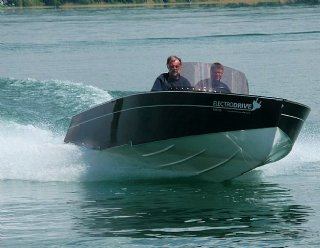 STEINER Lightstream 6.2 HV mit 120 kW © Steiner Nautic