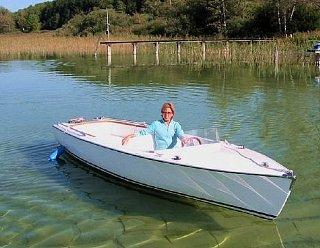 Das Elektroboot STEINER Lisa 550 - Qualität in Österreich hergestellt. © Steiner Nautic