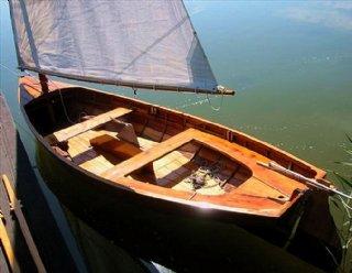 Der Lateiner von Steiner Nautic - das klassische Segelboot vom Mattsee. © Steiner Nautic