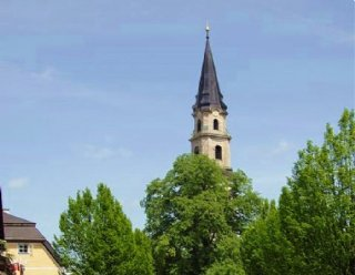 Die Stiftskirche Mattsee © Steiner Nautic