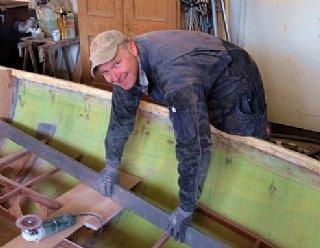 Bootsbaumeister Gernot Scheicher © Steiner Nautic