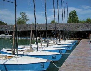 Alle SegelschülerInnen segeln auf den hauseigenen Kielzugvögeln von Steiner Nautic © Steiner Nautic