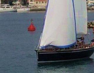 """Mit der Segelyacht """"Miramar 39"""" verbringen Sie lehrreiche und traumhaft schöne Stunden beim Hochsee-Segeln im Mittelmeer © Steiner Nautic"""