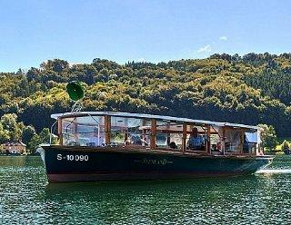 Im Sommer wie im Winter - Fahrten auf der Seenland sind ein Erlebnis für sich © Steiner Nautic