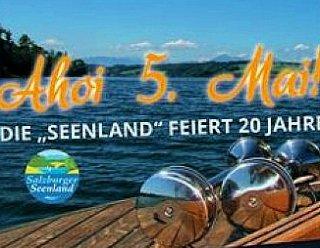 Die Seenland feiert ihr 20-jähriges Jubiläum. Feiern Sie mit uns! © Salzburger Seenland Tourismus / R.Fibich