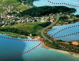 Die Route der Seenland-Schifffahrt © Steiner Nautic