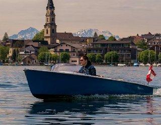 Steiner Lisa 550 - das Elektroboot für lauschige Stunden am See - in vielen Ausführungen bestellbar! © Chris Hofer / Steiner Nautic